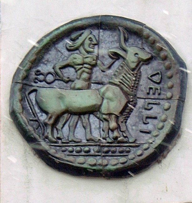 Монета Дерони II
