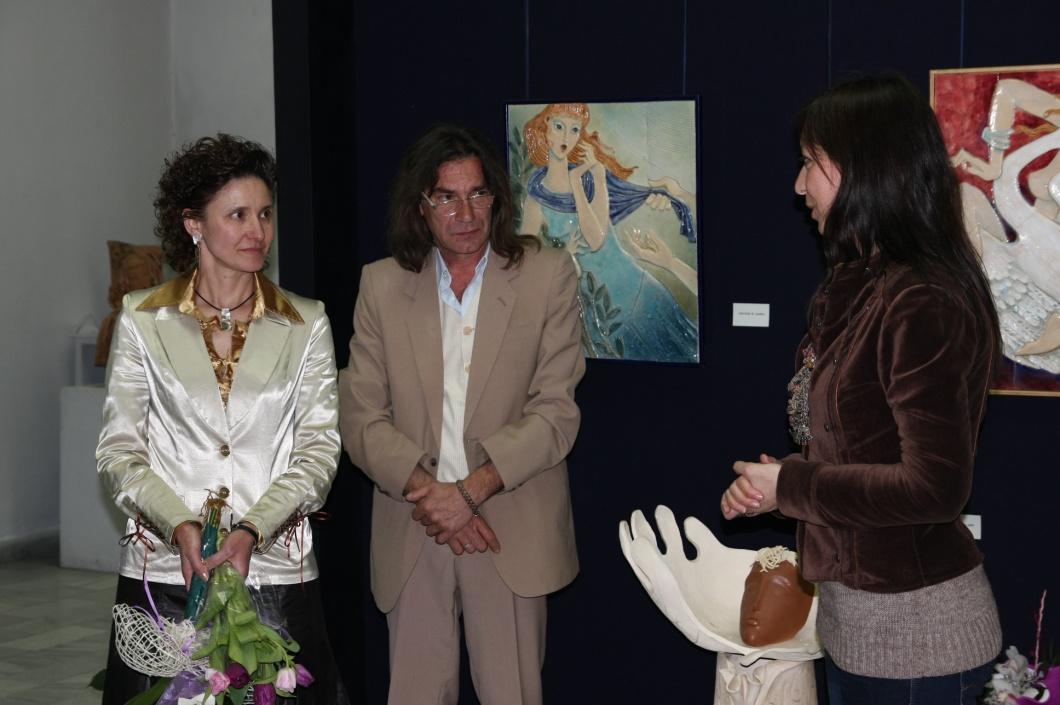 Откривване на изложба
