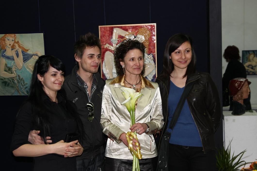 Маргарита Иванова със свои ученици
