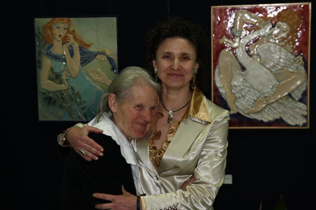 Маргарита Иванова с майка си