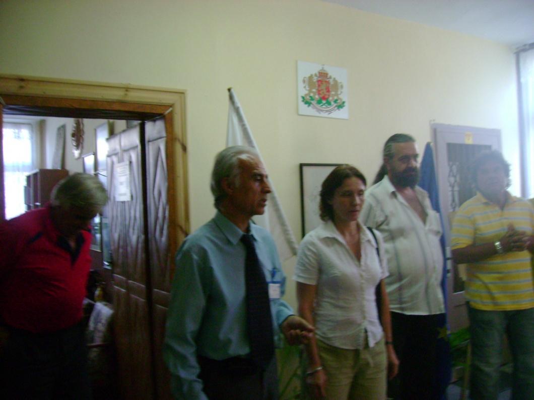 Откриване на изложба в Кметство Калугерово